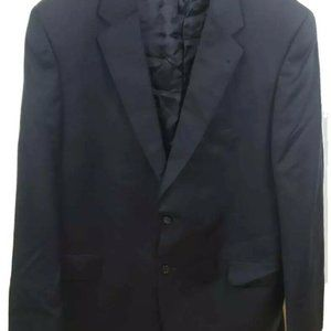 Jos. A. Bank Mens Blazer 46 L Black Signature
